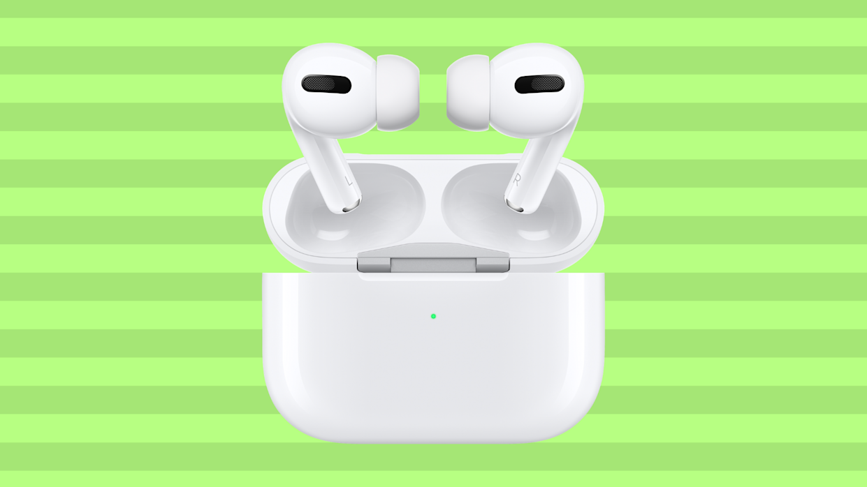 Customizable and noise-canceling: the Apple AirPods Pro are what we call a sound investment. (Photo: Amazon)