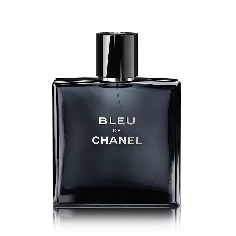 """<p><strong>Chanel </strong></p><p>sephora.com</p><p><strong>$130.00</strong></p><p><a href=""""https://go.redirectingat.com?id=74968X1596630&url=https%3A%2F%2Fwww.sephora.com%2Fproduct%2Fbleu-de-chanel-P270302&sref=https%3A%2F%2Fwww.oprahmag.com%2Flife%2Frelationships-love%2Fg26825396%2Fgifts-for-dad%2F"""" rel=""""nofollow noopener"""" target=""""_blank"""" data-ylk=""""slk:Shop Now"""" class=""""link rapid-noclick-resp"""">Shop Now </a></p><p>The women in the family may obsess over <a href=""""https://go.redirectingat.com?id=74968X1596630&url=https%3A%2F%2Fshop.nordstrom.com%2Fs%2Fchanel-n5-eau-de-parfum-spray%2F2826872&sref=https%3A%2F%2Fwww.oprahmag.com%2Flife%2Frelationships-love%2Fg26825396%2Fgifts-for-dad%2F"""" rel=""""nofollow noopener"""" target=""""_blank"""" data-ylk=""""slk:Chanel No. 5"""" class=""""link rapid-noclick-resp"""">Chanel No. 5</a>, but the French brand has something for gentleman too. This earthy and woody scent will soon become his go-to. </p>"""