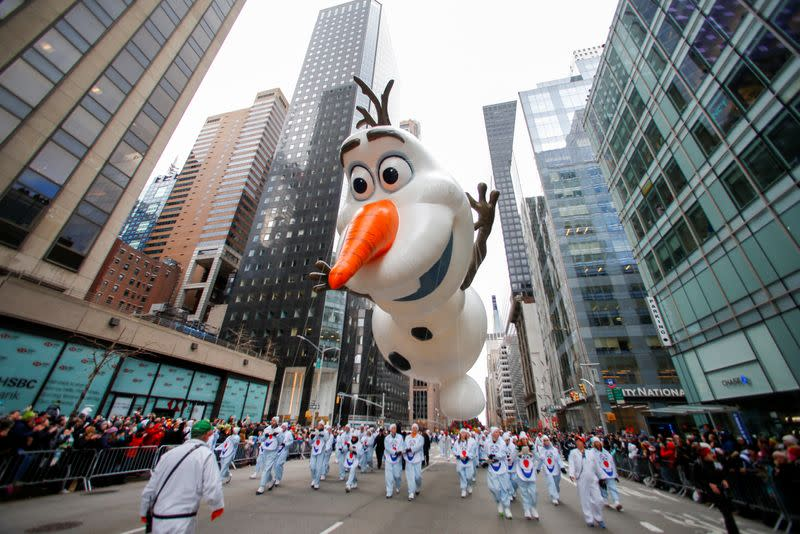 Macy's Thanksgiving Parade to be reduced to television-only event