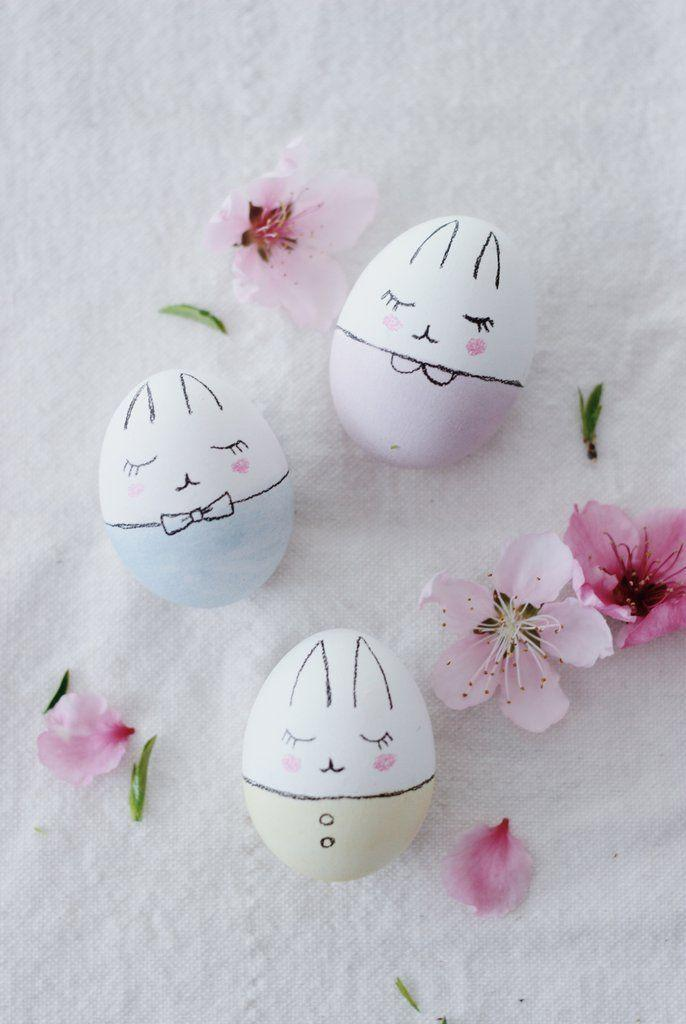 "<p>Your kids will love these little nursery-themed bunny eggs. </p><p><strong>Get the tutorial at <a href=""https://bitteshop.com/blogs/news/112959493-bunny-easter-eggs-diy"" rel=""nofollow noopener"" target=""_blank"" data-ylk=""slk:Bitte"" class=""link rapid-noclick-resp"">Bitte</a>.</strong></p><p><strong>What you'll need: </strong><em>PAAS Friends egg decorating kit ($2; <a href=""https://www.amazon.com/PAAS-Friends-Egg-Decorating-Medium/dp/B000F5OWSG?tag=syn-yahoo-20&ascsubtag=%5Bartid%7C10050.g.1282%5Bsrc%7Cyahoo-us"" rel=""nofollow noopener"" target=""_blank"" data-ylk=""slk:amazon.com"" class=""link rapid-noclick-resp"">amazon.com</a>)</em></p>"