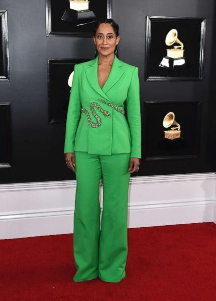 PHOTO: Tracee Ellis Ross arrives at the 61st annual Grammy Awards at the Staples Center Feb. 10, 2019, in Los Angeles. (Jordan Strauss/Invision/AP)