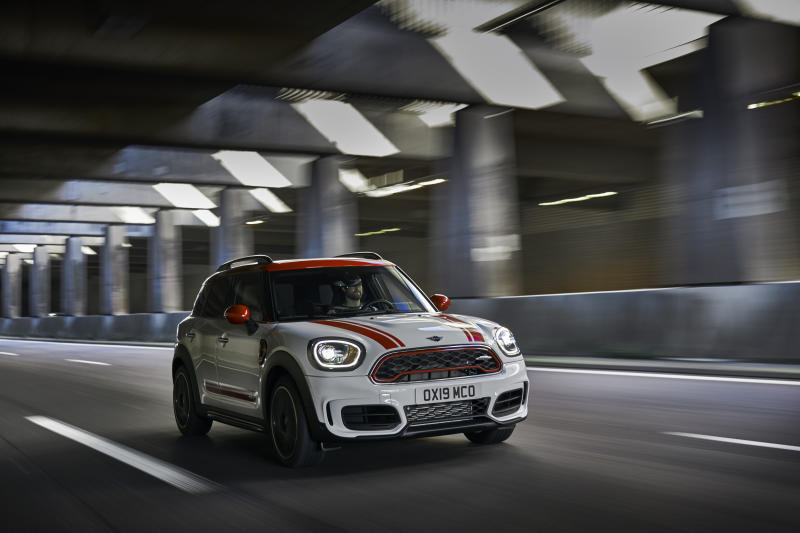 This undated photo provided by Mini shows the Mini Countryman. In any trim, this diminutive SUV will prove adept at tackling your favorite curvy road with precision and athleticism. (Guenter Schmied/BMW of North America via AP)