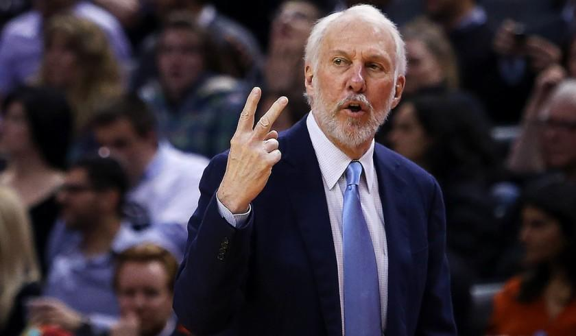 """San Antonio Spurs coach Gregg Popovich paid $1.475 million for his three-bedroom Presidio Heights condo in 2002, records show. <span class=""""copyright"""">(Vaughn Ridley / Getty Images)</span>"""