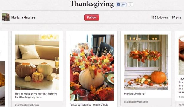 10 Pretty Pinterest Boards For Thanksgiving Inspiration