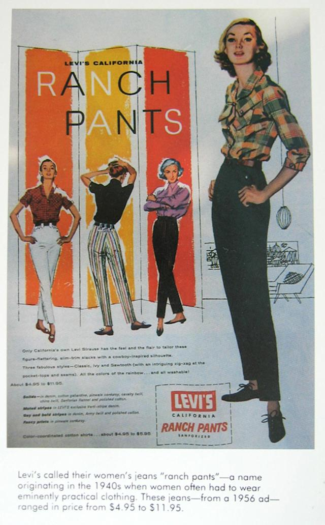 <p>Proving that denim is for the ladies. (Photo: Levi's) </p>