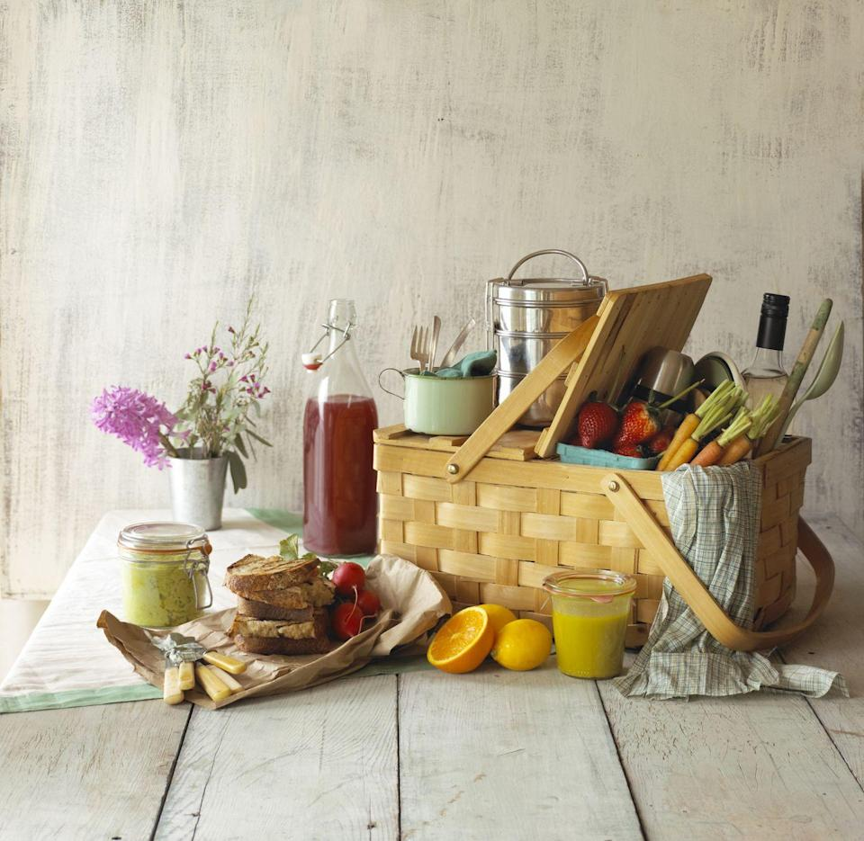 <p>The great thing about an indoor picnic is that you don't have to rely on the weather. Pop all of your favourite picnic foods in a basket, get comfy on your living floor and pretend it's a hot summer's day.</p>