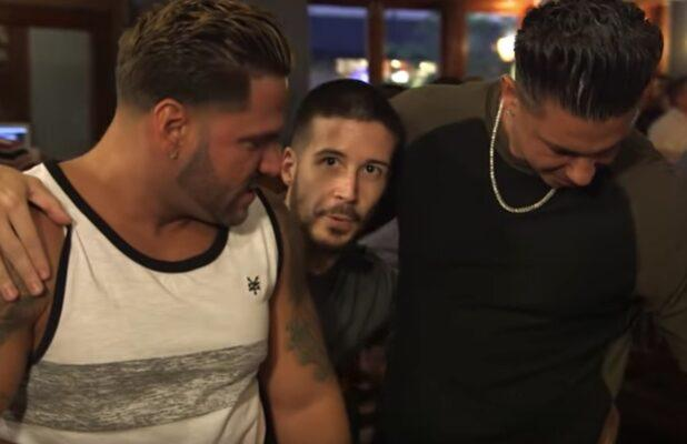 'Jersey Shore Family Vacation': The Boys Reenact What Went Down Between Zack and Angelina (Exclusive Video)