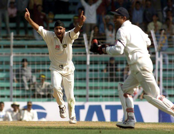 Harbhajan Singh was incredibly good in the 2000-01 series