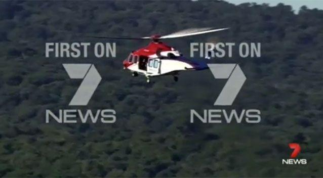 The hiker has been located safe and well. Source: 7 News.