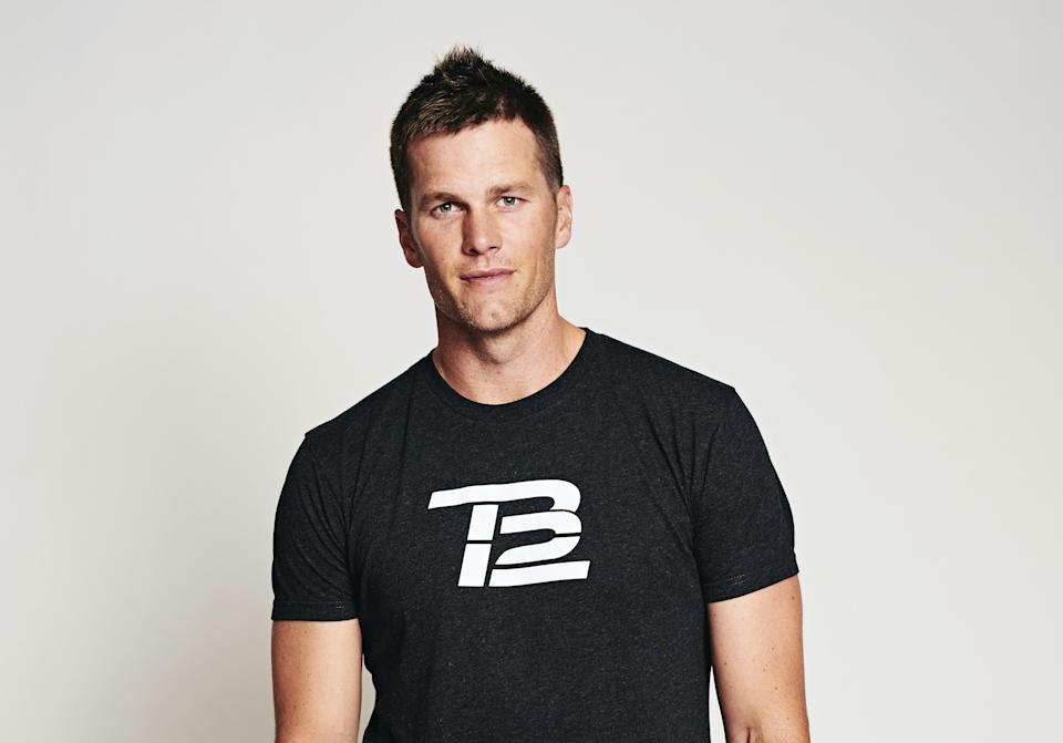 """You're going to love it,"" Brady said of new TB12 recovery supplement Protect."