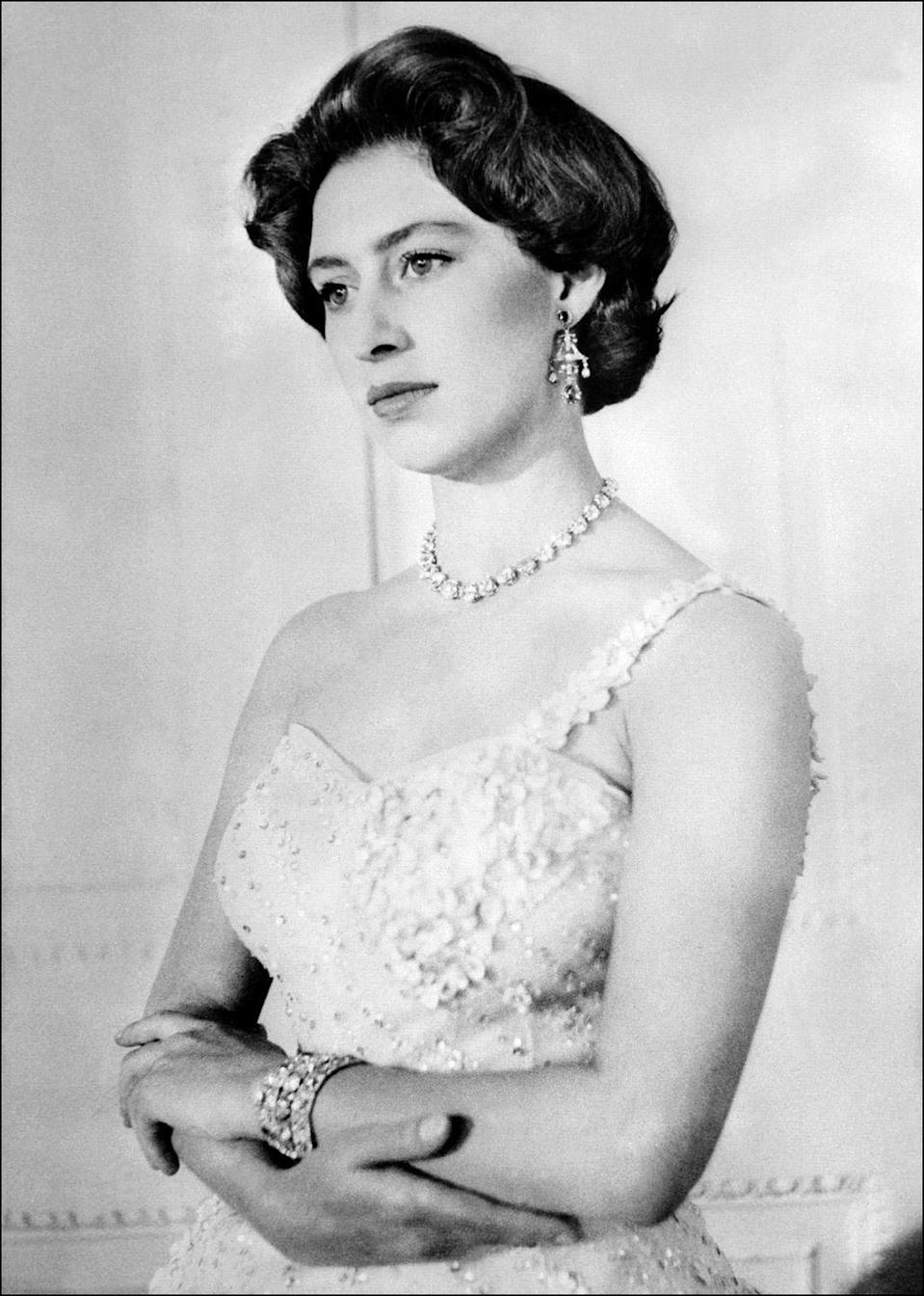 <p>Princess Margaret on her 26th birthday. </p>