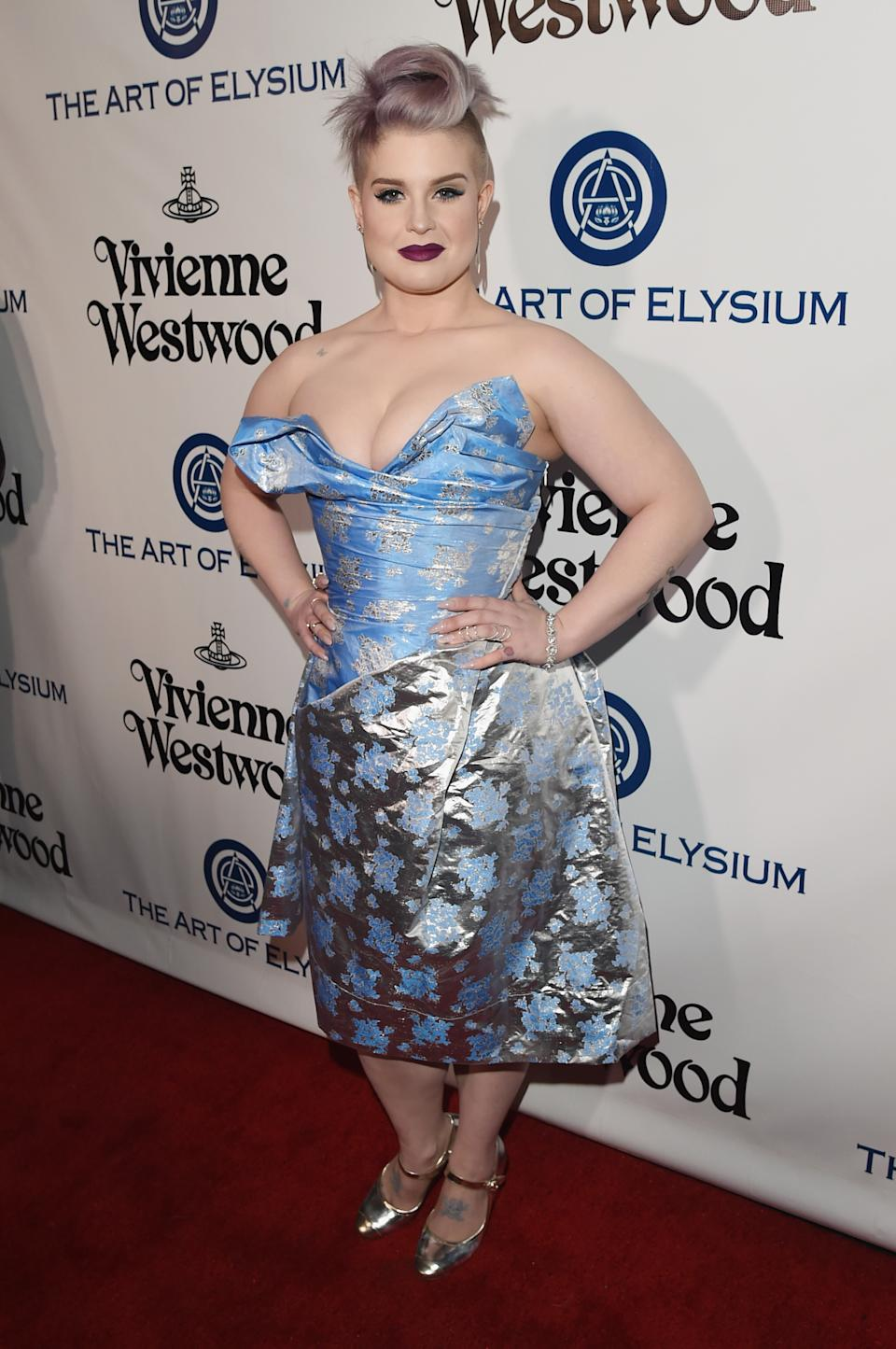 Kelly Osbourne attends The Art of Elysium 2016 HEAVEN Gala presented by Vivienne Westwood & Andreas Kronthaler at 3LABS on January 9, 2016 in Culver City, California.
