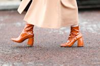 """<p>Ankle boots are staples in everyone's closet, just as much as a pair of blue jeans or a white t-shirt. They're <a href=""""https://www.marieclaire.com/fashion/a29492530/boots-types/"""" rel=""""nofollow noopener"""" target=""""_blank"""" data-ylk=""""slk:your go-to shoes"""" class=""""link rapid-noclick-resp"""">your go-to shoes </a>when the temperatures drop, and for the truly boot-obsessed, you'll wear them <a href=""""https://www.marieclaire.com/fashion/g14011850/how-to-wear-ankle-boots/"""" rel=""""nofollow noopener"""" target=""""_blank"""" data-ylk=""""slk:even in the summer"""" class=""""link rapid-noclick-resp"""">even in the summer</a> underneath a slip dress or with denim shorts. This style comes in a <a href=""""https://www.marieclaire.com/fashion/g2387/fall-boot-guide/"""" rel=""""nofollow noopener"""" target=""""_blank"""" data-ylk=""""slk:variety of designs"""" class=""""link rapid-noclick-resp"""">variety of designs</a>, which makes it all the more difficult to not buy every pair you see on sight. We'll help you narrow down your bootie options for 2020, though—retailers have released their initial ankle boot offerings of the season, and the options do not disappoint. Whether you're gravitating towards another pair of the classic black leather heeled boot or a heeled snakeskin design, the ankle boots ahead can dress up or lend a more casual air to your ensembles. </p>"""