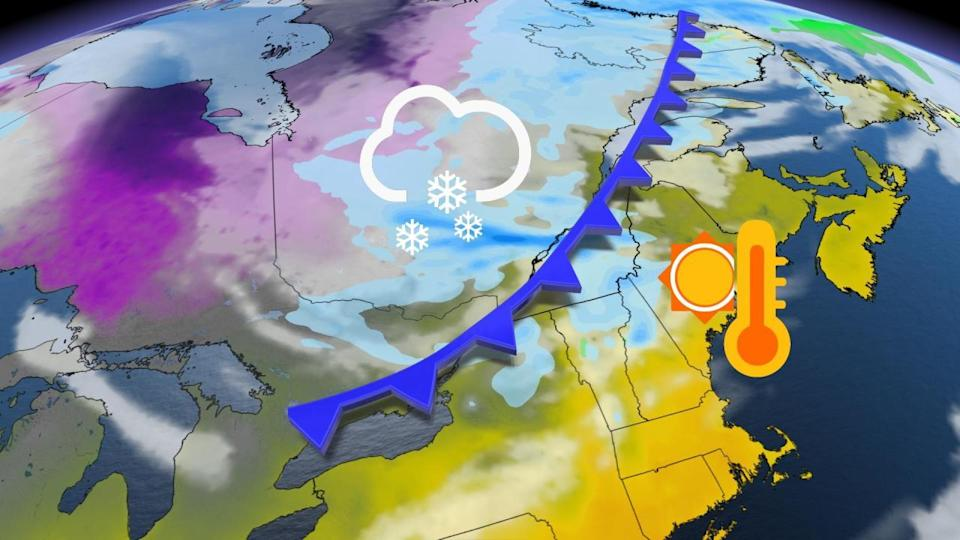 Quebec threatened with heavy snow despite 'springing' forward this weekend