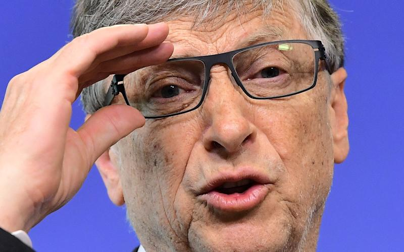 Bill Gates, the Microsoft founder - AFP or licensors