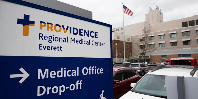 Providence Medical Center Everett, Washington, Wuhan virus confirmed US case