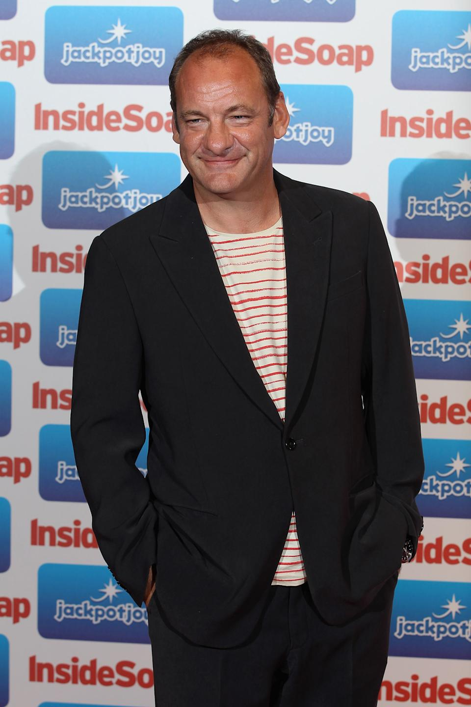 LONDON, ENGLAND - SEPTEMBER 26:  Actor Nick Miles from Emmerdale attends the Inside Soap Awards 2011 at Gilgamesh on September 26, 2011 in London, England.  (Photo by Mike Marsland/WireImage)