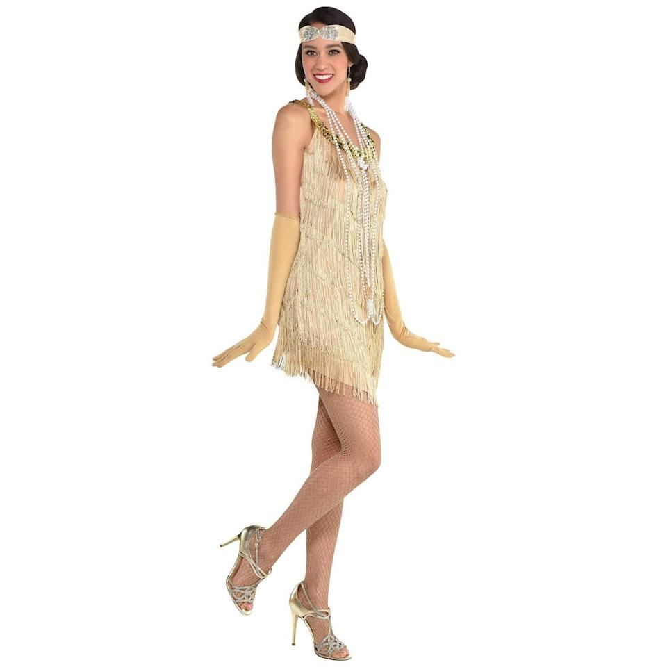<p>Live out those Gatsby vibes with this stylish <span>Adult Flapper Halloween Costume</span> ($25). It's a cute way to get dressed up and be stylish while under the guise of a costume.</p>
