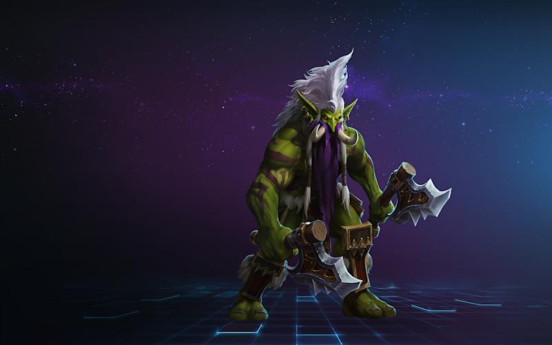 Zul'Jin is getting nerfed in the latest HotS patch (Blizzard)