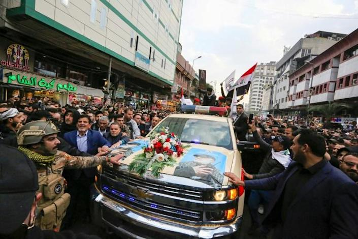 The strike that killed Qasem Soleimani haa strained ties between the United States and its other partners in the coalition fighting the Islamic State jihadist group (AFP Photo/SABAH ARAR)