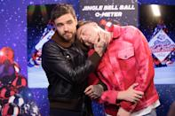 Liam Payne and Roman Kemp during day one of Capital's Jingle Bell Ball with Coca-Cola at London's O2 Arena.