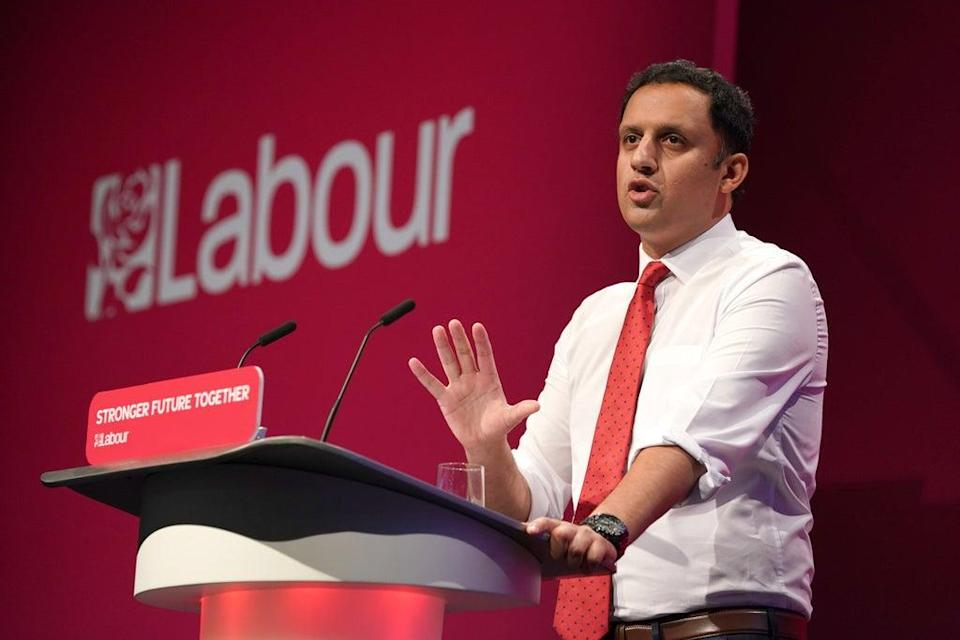 Scottish Labour Leader Anas Sarwar said he had had difficulties getting a vaccine certificate to attend Labour's Brighton conference. (Gareth Fuller/PA)