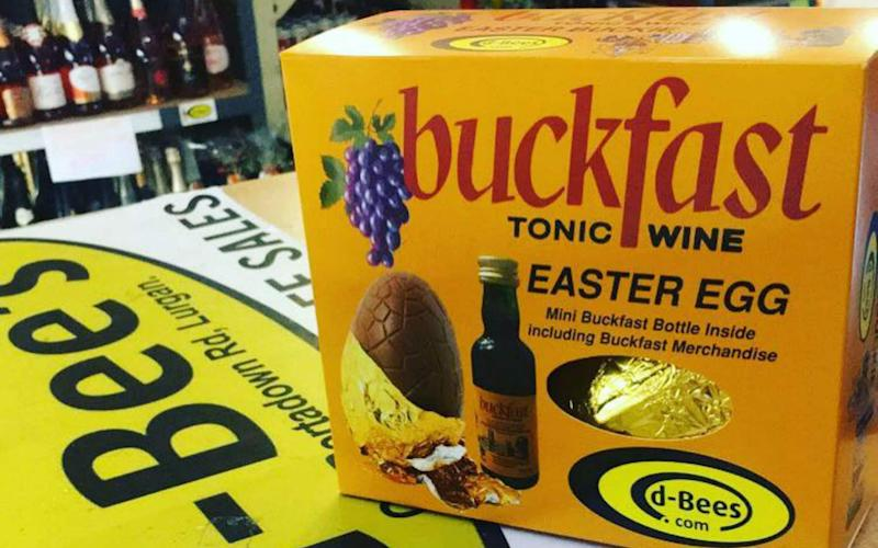 Buckfast fanatics have crashed a retail website with orders after they launched a Buckfast Easter egg - Deadline News