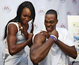 <p>Tennis star Venus Williams gives basketball player Dwight Howard a run for his money in the bicep game. The two compared muscles in 2009 at an EA Sports Play With Pros event. </p>