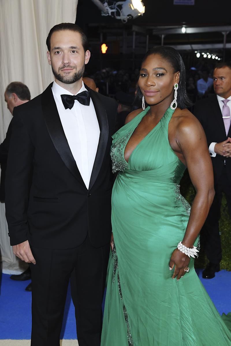 Serena Williams Shows Off Her Cute Baby Bump on the Met Gala Red Carpet