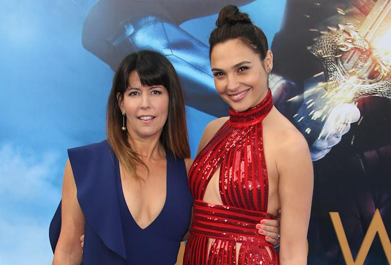 Patty Jenkins with Gal Gadot at the LA premiere of 'Wonder Woman' (Credit: FayesVision/WENN.com)