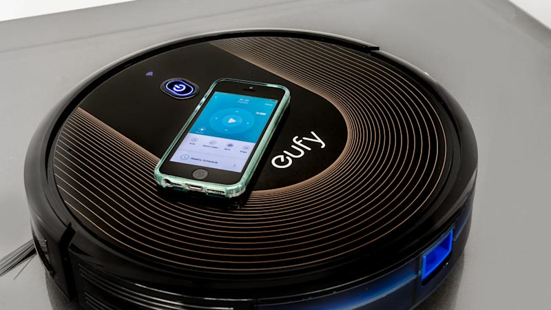 Save on a popular Eufy RoboVac to keep your floors clean this holiday season.