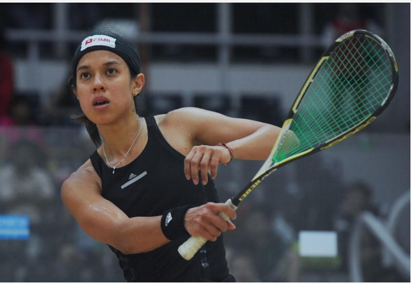 Nicol David received a total of 318,943 votes, coming ahead of tug-of-war champion Jame Kehoe, and powerlifter Larysa Soloviova by over 200,000 votes. — Bernama pic