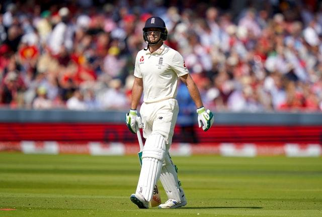 Jos Buttler's was the first wicket to fall on the final day