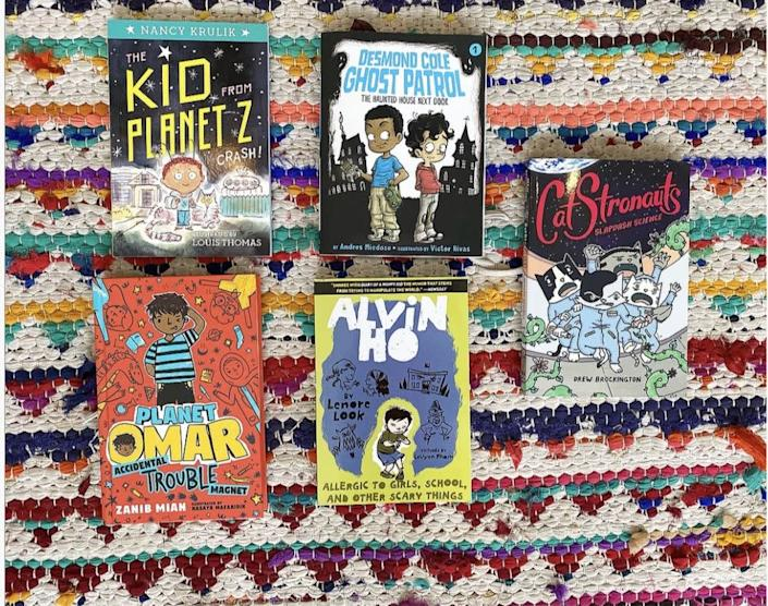 "Brave + Kind is a Black-owned brick-and-mortar bookshop in Decatur, Georgia, that also sells a wealth of diverse children's literature -- as books and bundles -- on its website. <a href=""https://www.braveandkindbooks.com/collections/subscriptions"" rel=""nofollow noopener"" target=""_blank"" data-ylk=""slk:Check it out here"" class=""link rapid-noclick-resp"">Check it out here</a>."