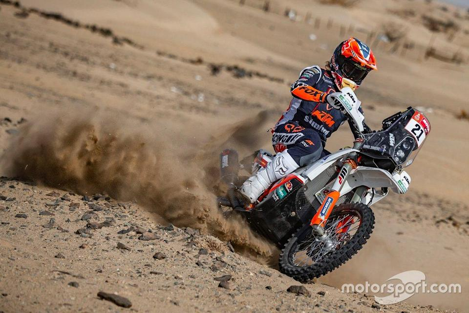 "#21 KTM Factory Team: Daniel Sanders<span class=""copyright"">KTM Images</span>"