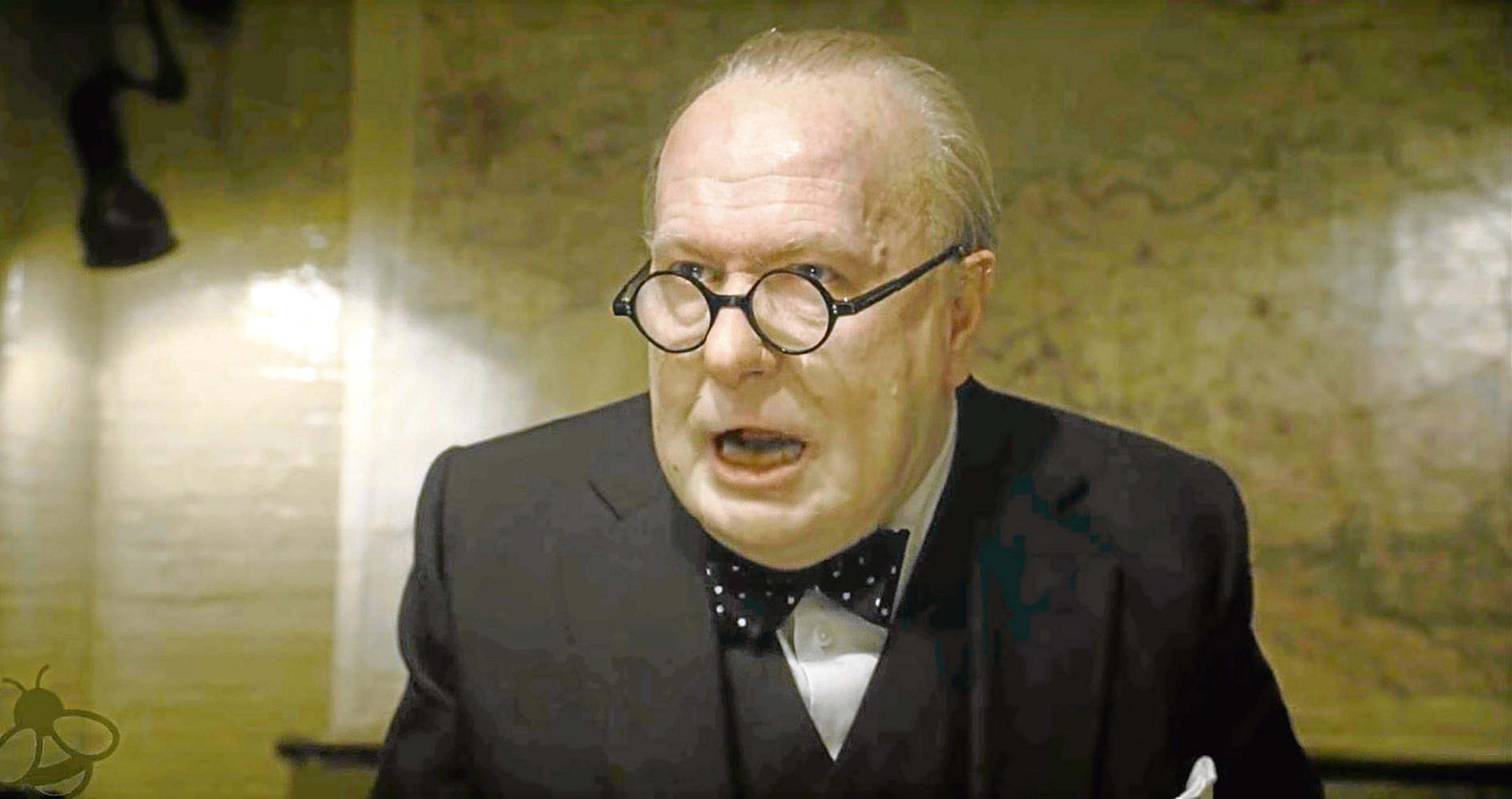 Gary Oldman in 'The Darkest Hour' (Focus)