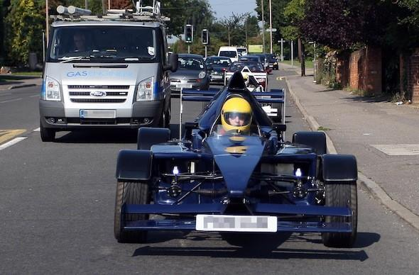 Man from Essex builds his own F1 car
