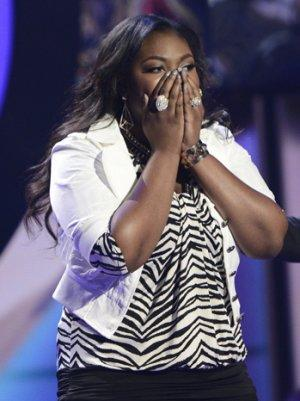 'American Idol's' Candice Glover: 'I Gave Myself the Talk -- If You Go Home, It's OK'