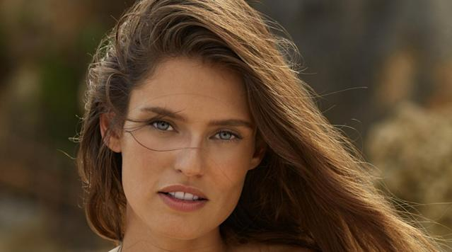 Bianca Balti was photographed by James Macari in Sumba Island. Swimsuit by Maui Girl.
