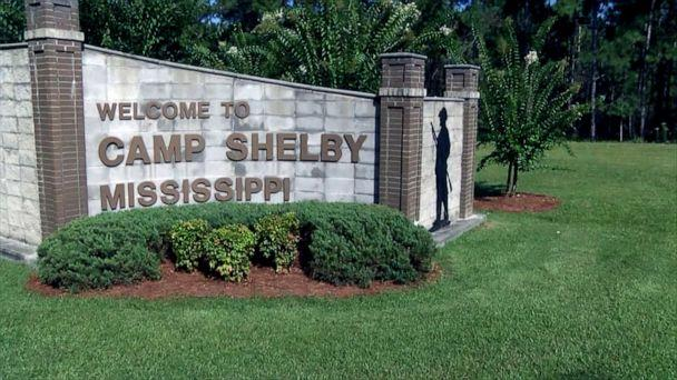 PHOTO: Camp Shelby in Mississippi. (WDAM)