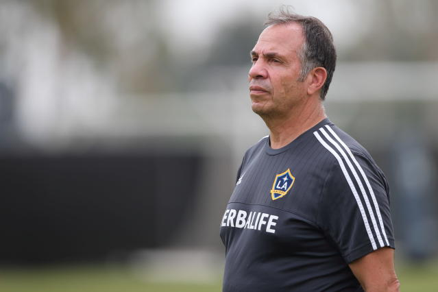 "Is Bruce Arena headed back to the <a class=""link rapid-noclick-resp"" href=""/soccer/teams/la-galaxy/"" data-ylk=""slk:LA Galaxy"">LA Galaxy</a>? (Matthew Ashton/Getty Images)"