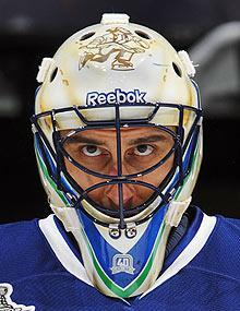 All eyes will be on Roberto Luongo to see how the Canucks goalie responds after a roller-coaster playoff last spring