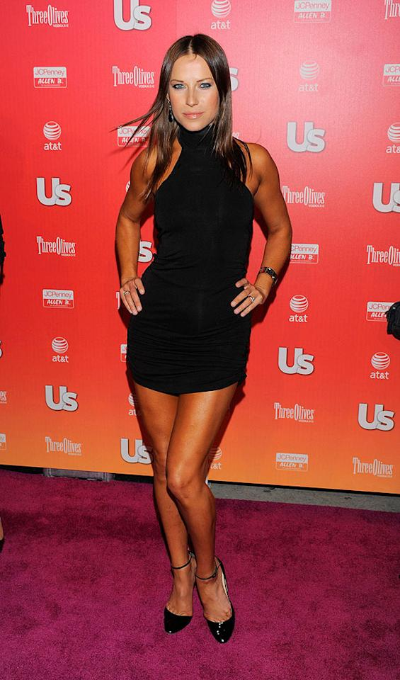 """Recently ousted """"DWTS"""" pro Edyta Silwinska was ready to dance the night away in her super short mini. Todd Williamson/<a href=""""http://www.wireimage.com"""" target=""""new"""">WireImage.com</a> - April 22, 2009"""