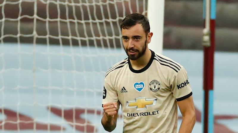 Man Utd equal Premier League penalty record as Fernandes continues hot start