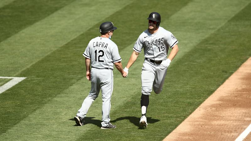 Adam Engel hits first White Sox playoff homer since ex-Athletic Jermaine Dye