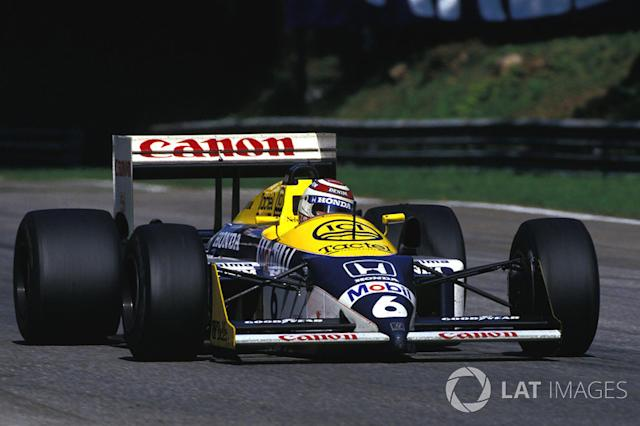 "1987: Williams-Honda FW11B <span class=""copyright"">Sutton Motorsport Images</span>"
