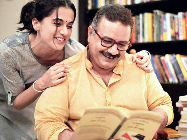 Kumud Mishra and Taapsee Pannu in Thappad
