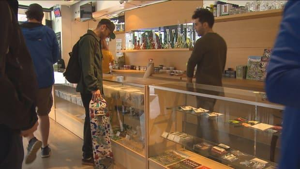 The federal government officially legalized recreational cannabis in 2018, but municipalities have been developing their own policies to regulate its sale within city limits. (CBC - image credit)