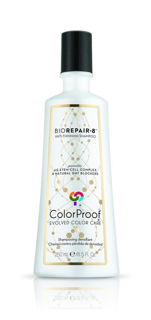 """<h3>BioRepair-8 Anti-Thinning Shampoo<br></h3><br>""""If you're suffering from thinning hair, I recommend using a shampoo that's formulated to reduce the levels of DHT on your scalp,"""" says Philip B, hairstylist and founder of the eponymous hair-care brand. This shampoo is made with DHT blockers to address hair thinning, along with ingredients aimed at repairing connective tissue for better anchoring of new hair growth and improved circulation.<br><br>Another somewhat surprising move that can address stunted hair? <em>Very</em> regular shampooing. """"Daily shampooing helps to keep the scalp environment healthy – which is the base of hair growth,"""" Kingsley says. """"If you shampoo daily, you will naturally see less hair fall when you wash your hair than if you were washing it only three or four times a week.""""<br><br><strong>ColorProof</strong> BioRepair-8 Anti-Thinning Shampoo, $, available at <a href=""""https://go.skimresources.com/?id=30283X879131&url=https%3A%2F%2Fshop.colorproof.com%2Fproducts%2Fbiorepair-8-anti-thinning-shampoo"""" rel=""""nofollow noopener"""" target=""""_blank"""" data-ylk=""""slk:Colorproof"""" class=""""link rapid-noclick-resp"""">Colorproof</a>"""