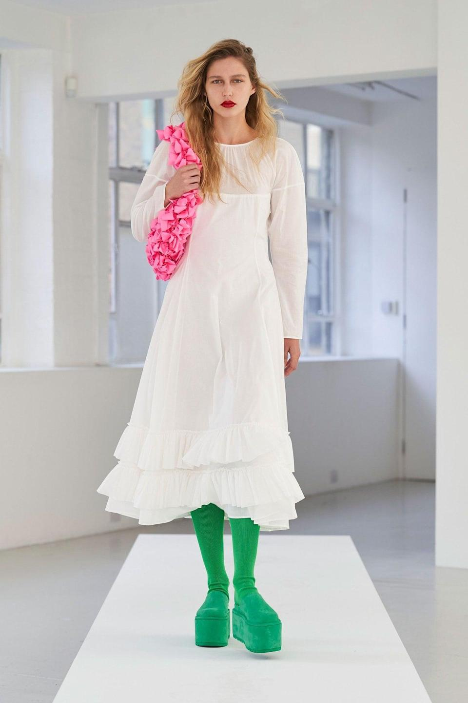 <p>A bag from the Molly Goddard spring/summer 2021 collection.</p>